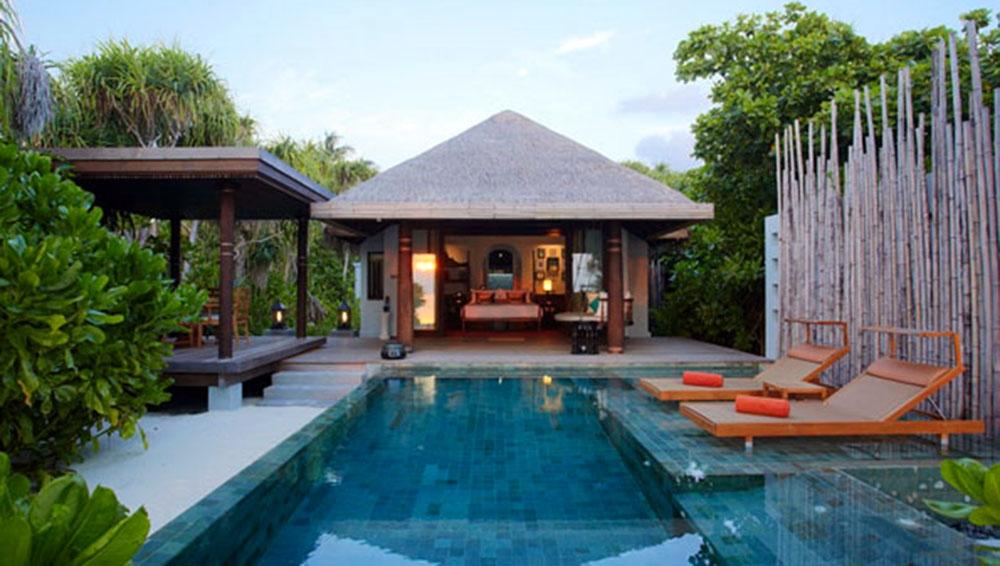 luxury villa maldives beach - photo #45