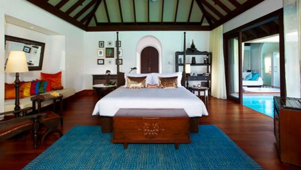 Three Bedroom Presidential Beach Residence At Anantara Kihavah Villas Maldives