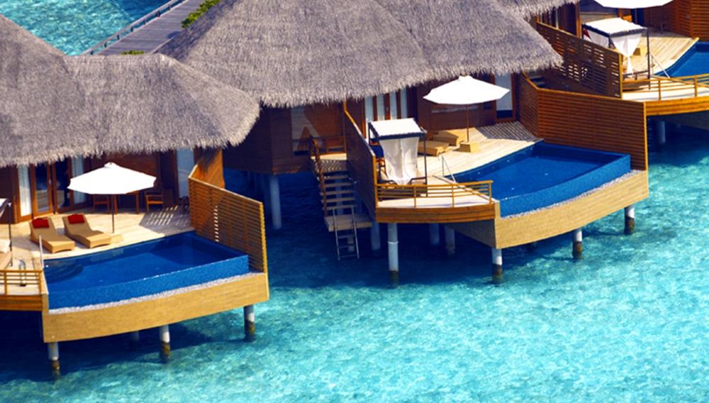 Baros Maldives Resort Water Pool Villa