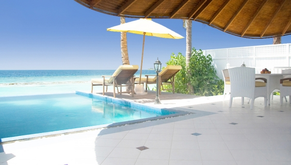 Luxury Beachfront Pool Villa - Two Bedrooms