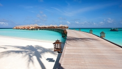Constance Halaveli Maldives Jetty