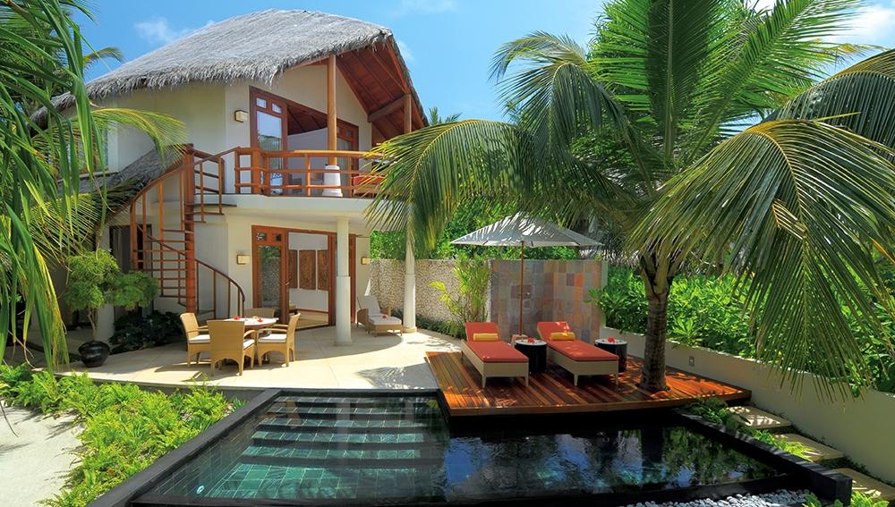 luxury villa maldives beach - photo #15