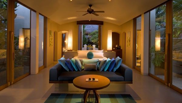 Sophisticated luxury in the Deluxe Beach Villas