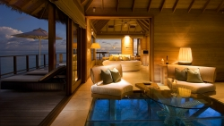 The Ultimate Luxury Experience In The Sunset Water Villas