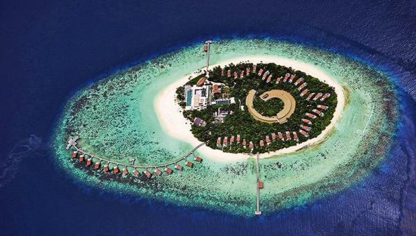 Park Hyatt Maldives Hadahaa Aerial View