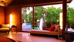 Park Pool Villa Bedroom
