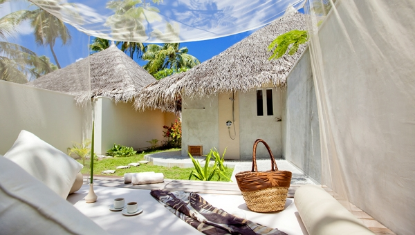 Deluxe Beach Villa with Jacuzzi