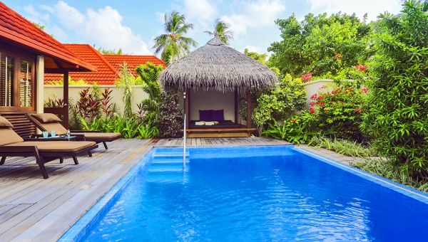 Royal Residence Pool Kurumba