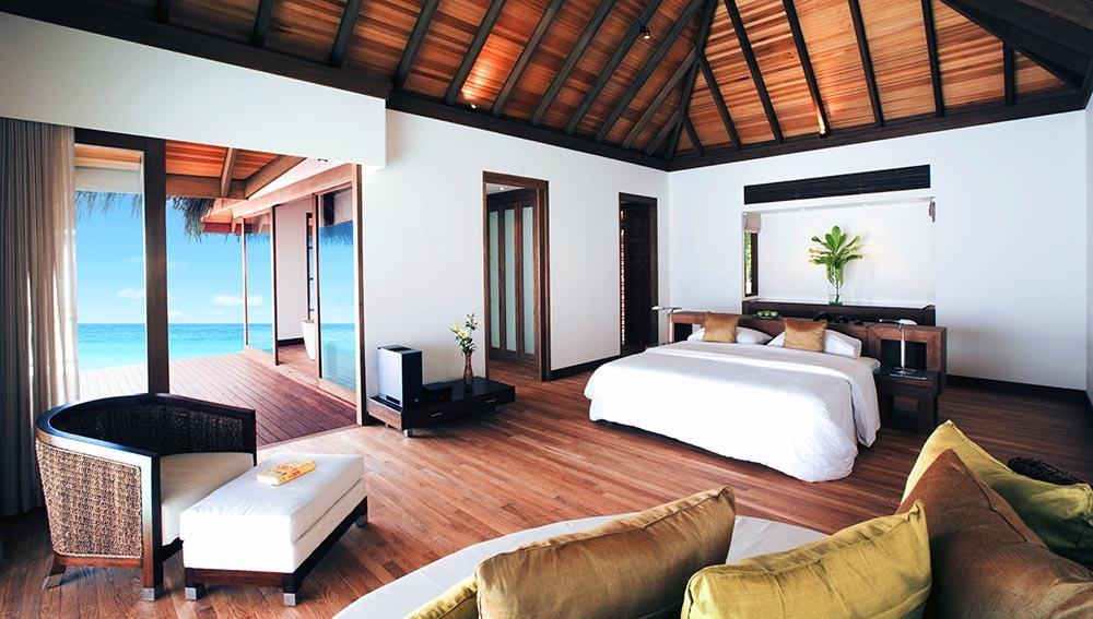 Water Villa with Pool at Velassaru Maldives