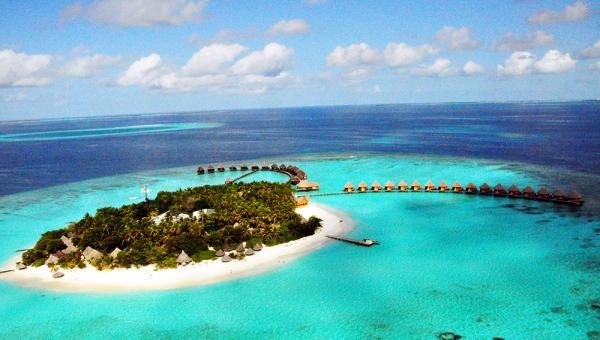Thulhagiri Island Resort Aerial View