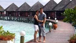 Thulhagiri Island Resort Spa water villas