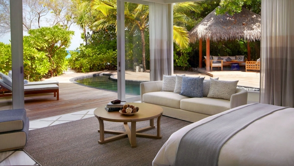Viceroy Deluxe Beach Villa View