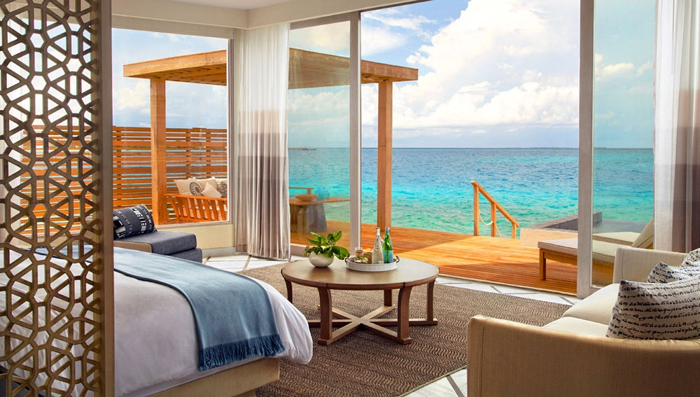 Viceroy Deluxe Water Villa View
