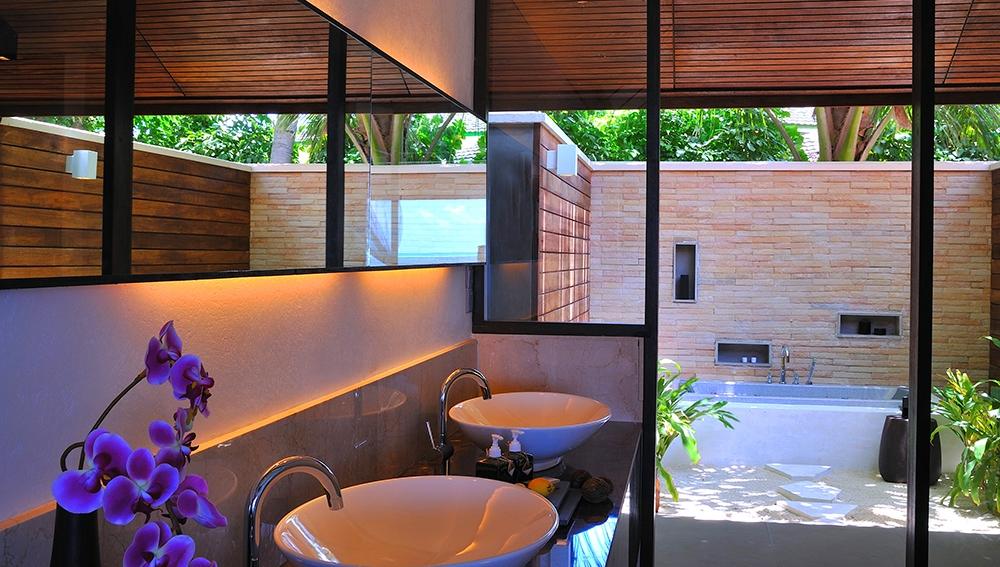 Lagoon Villa Bathroom View