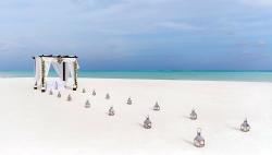 wedding blessing on cocoa sandbank