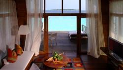 Loft Villa Lounge Area