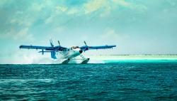 sea plane journey