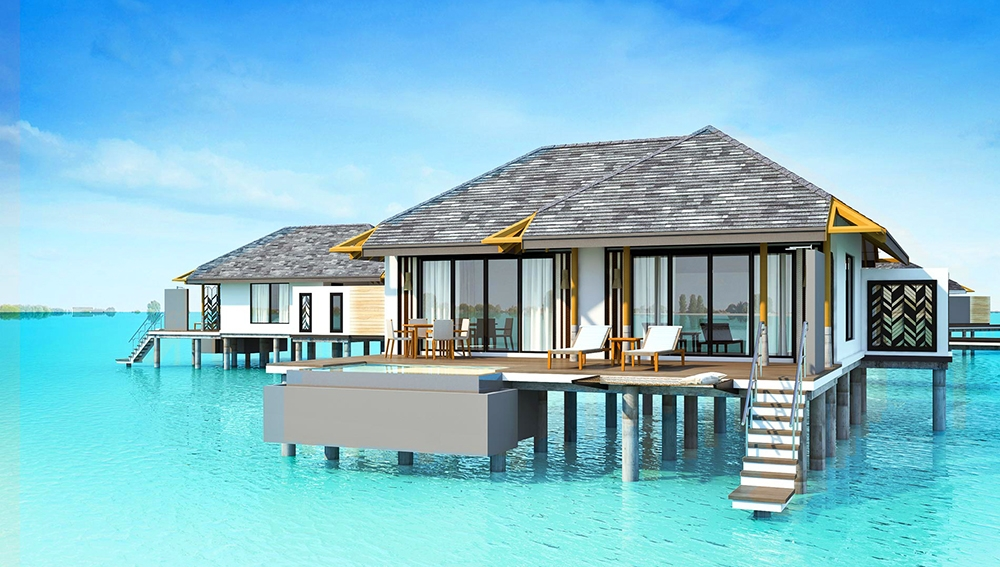 Luxury Pool Villas Maldives: Overwater Pool Villa At Amari Havodda Maldives