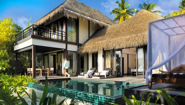 Two Bedroom Beach Pool Villas