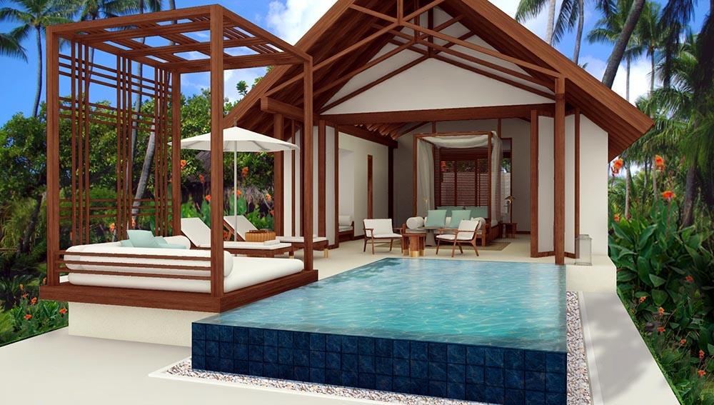 Furaveri Island Resort Spa Water Villa