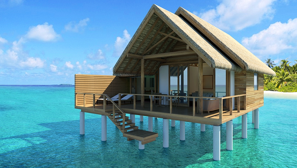 Water Villa At Fushifaru Maldives