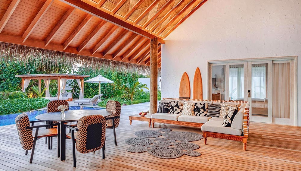 TWO BEDROOM BEACH SUNSET VILLA