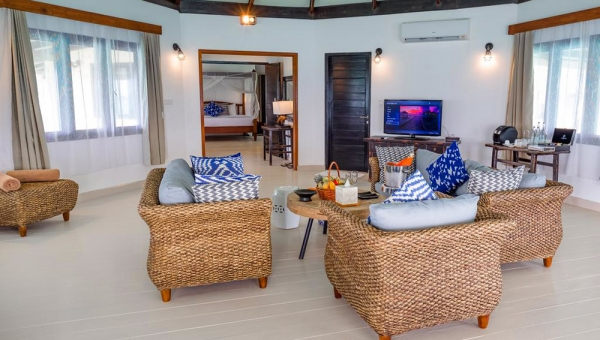Two-Bedroom Family Suite with Private Pool