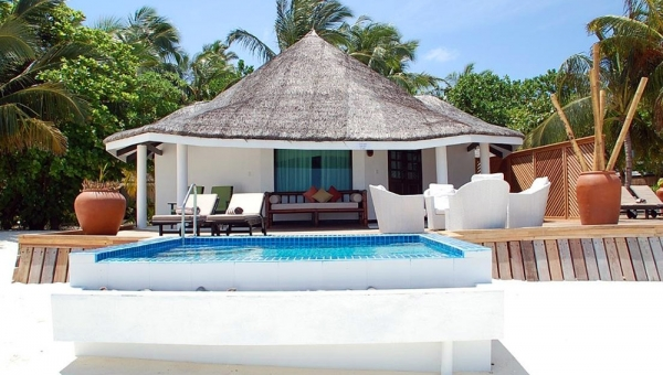 Waterfront Beach Villa with Private Pool