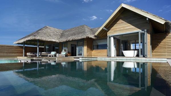 Overwater Pool Suite
