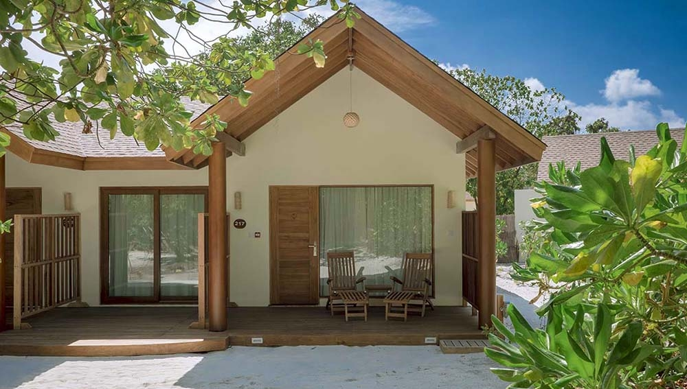 Garden Villa At Reethi Faru Resort Spa