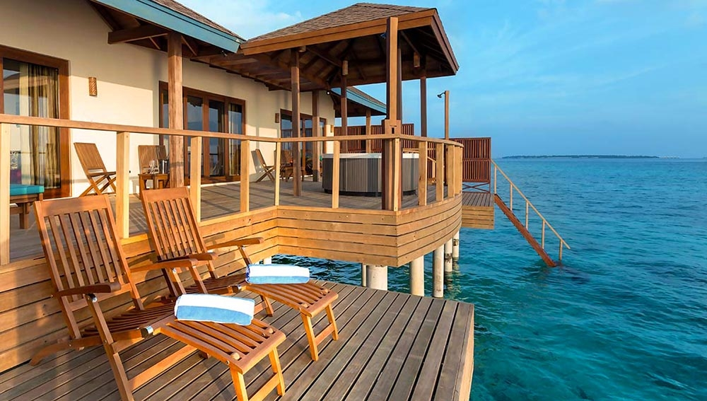 Water Villa Suite At Reethi Faru Resort Spa