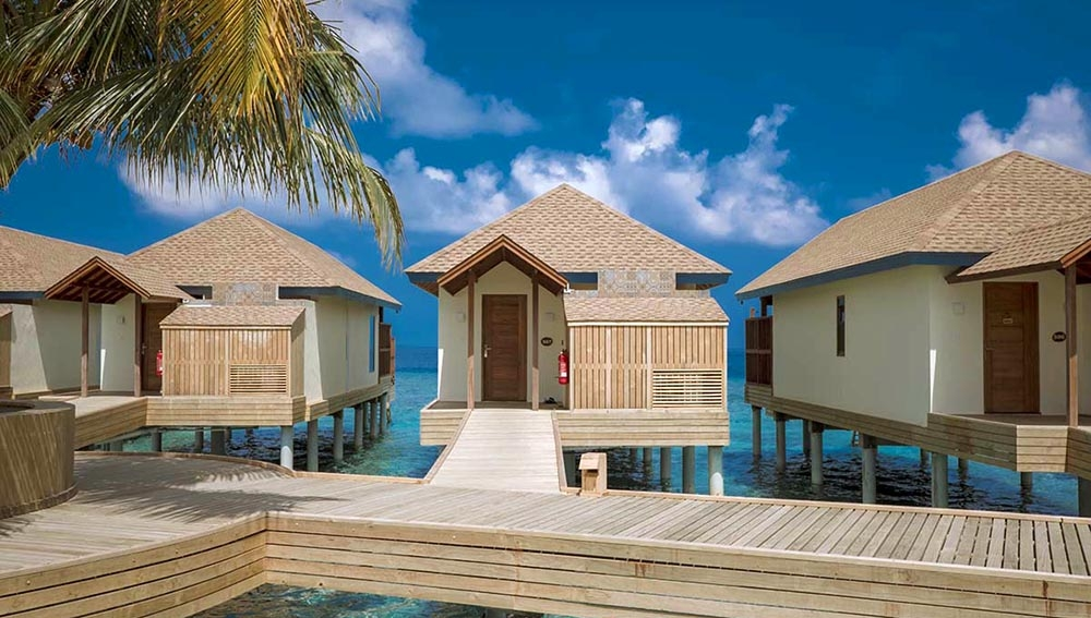 Water Villa At Reethi Faru Resort Spa
