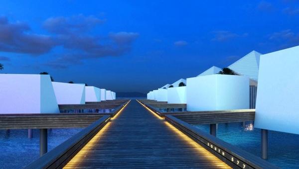 Platinum Overwater Villa