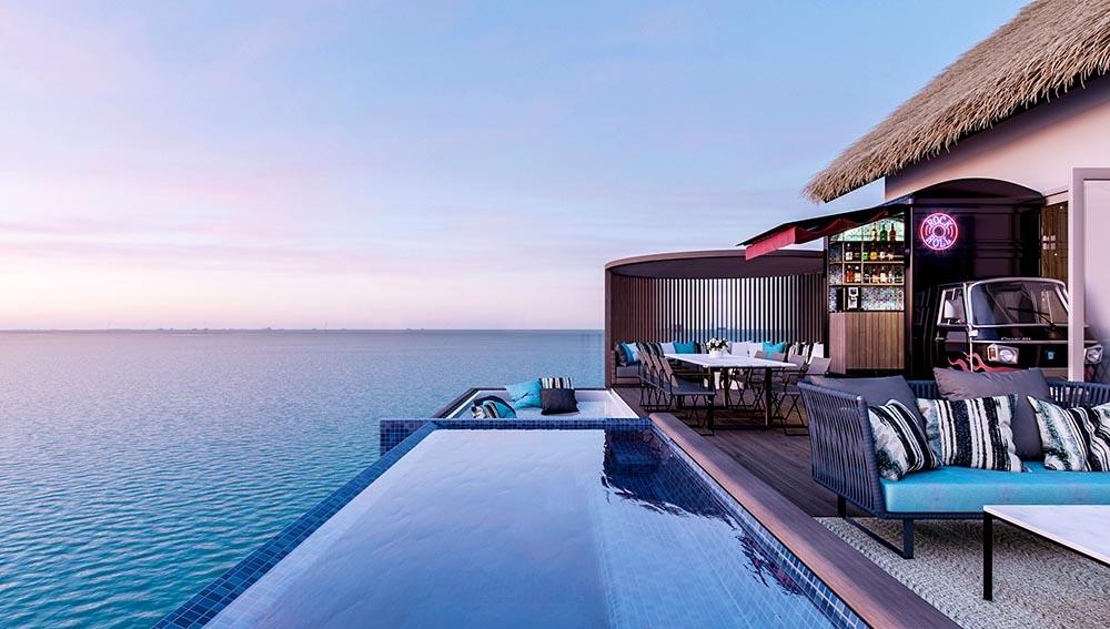 Royalty Overwater Pool Villa