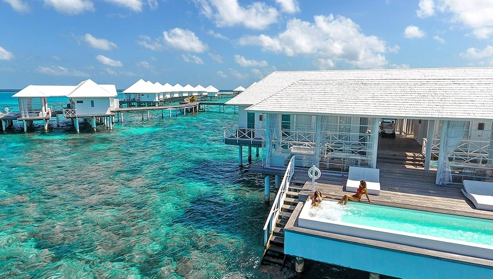 TWO BEDROOM WATER VILLAS
