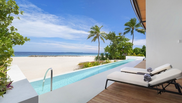 Two-Bedroom Island Residence with Pool - Heavenly Beach Residence