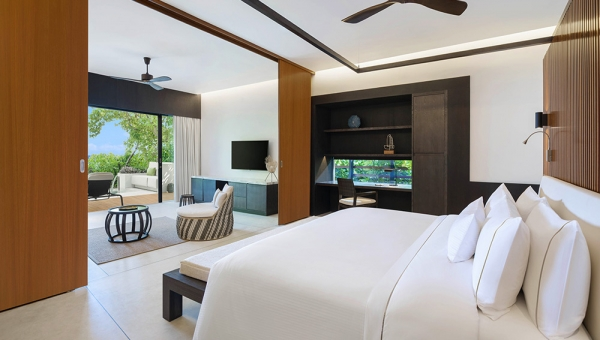 Two-Bedroom Island Suite with Pool - Beach Villa