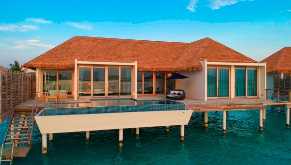 Overwater Villa with Private Pool