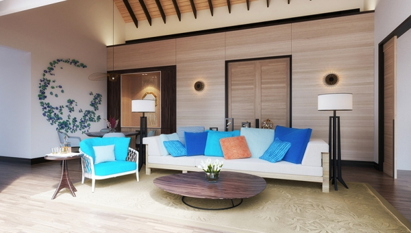 Three Bedroom Beach Suite Villa with Private Pool