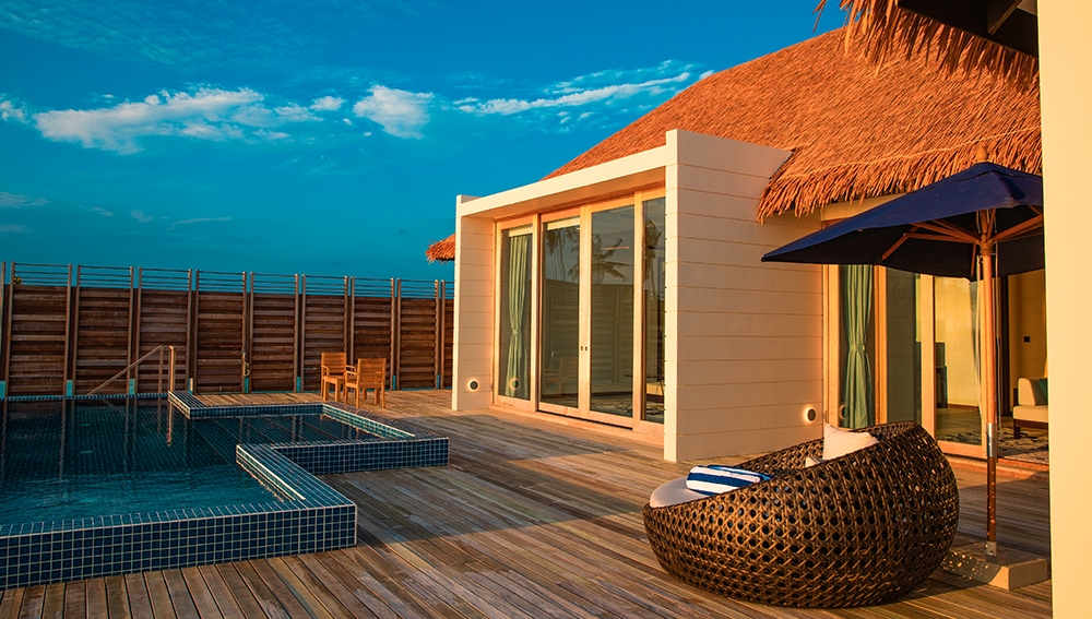 Three Bedroom Family Beach Villa with Private Pool