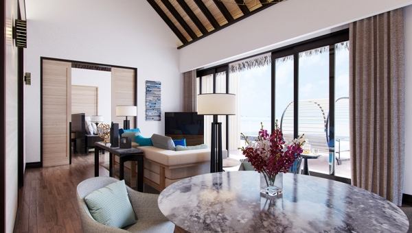Two Bedroom Beach Suite Villa with Private Pool