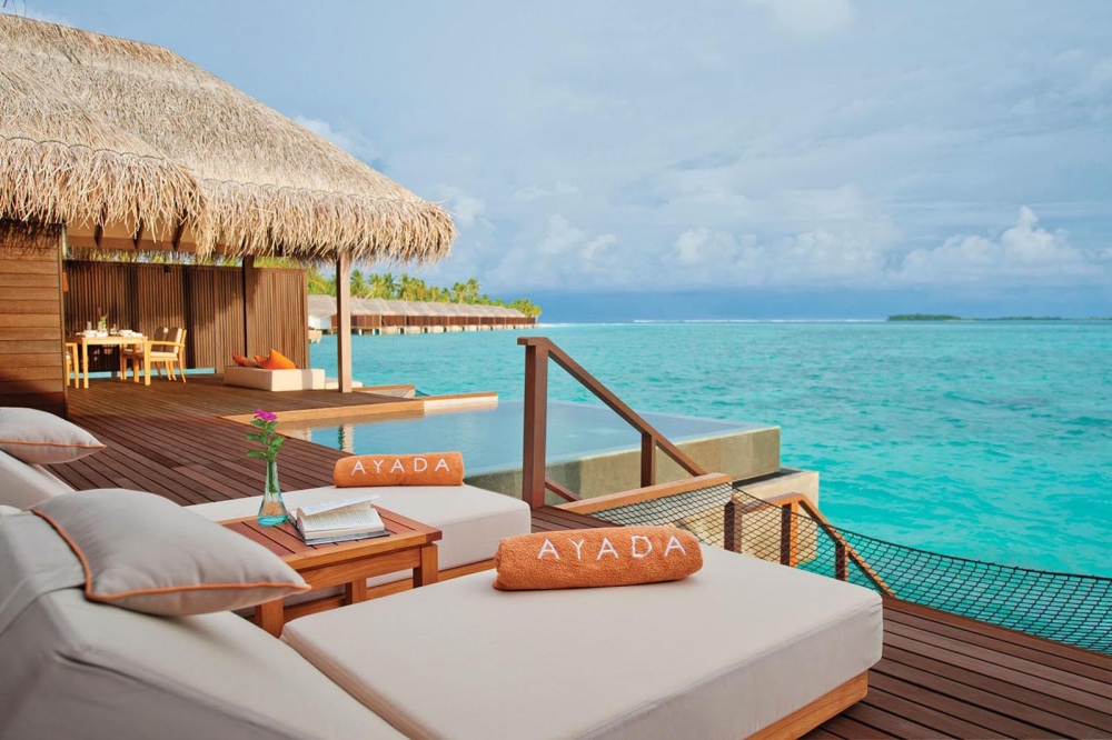 Sunset Overwater Family Suite