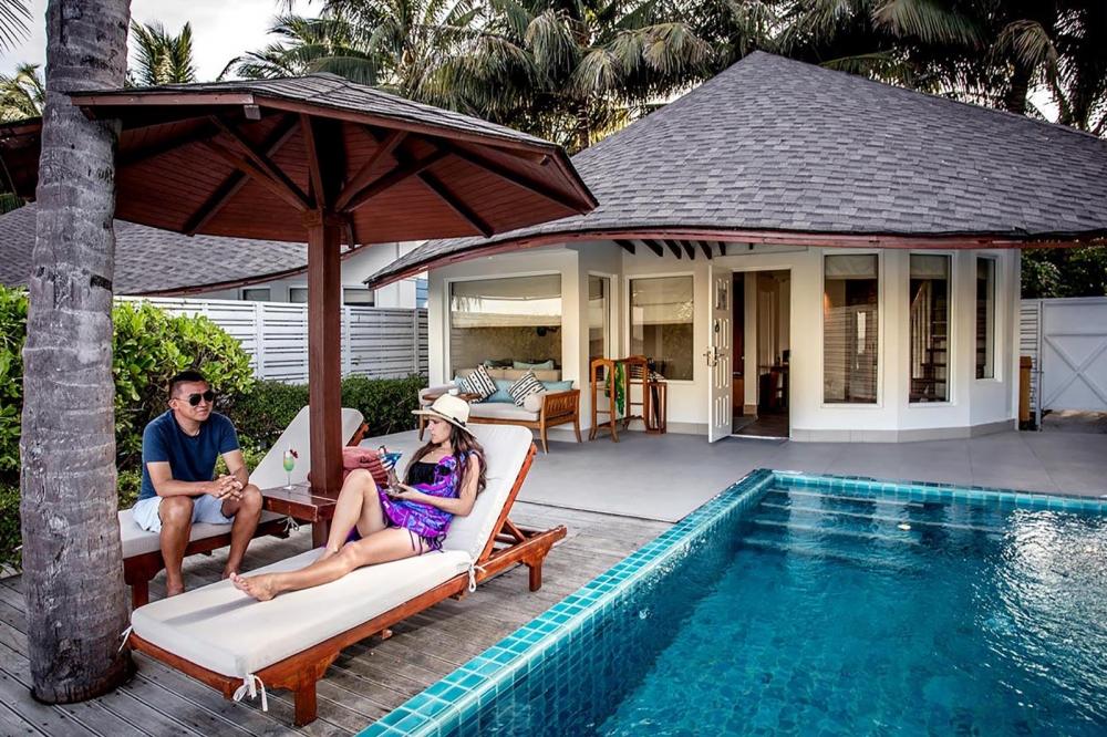 Luxury Beachfront Pool Villa - Two Bedrooms