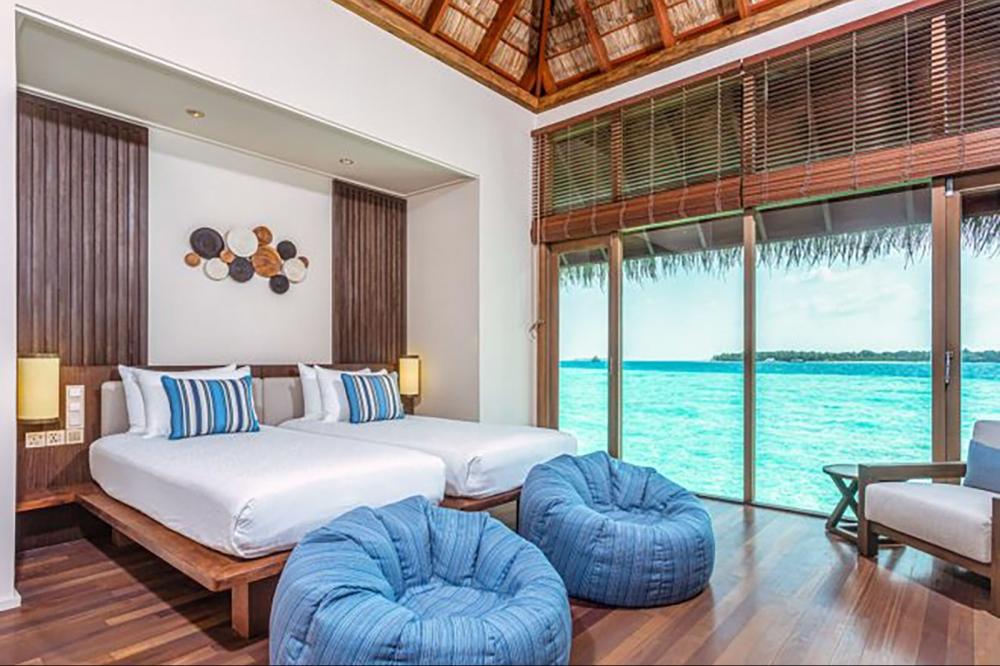 2Bedroom Grand Water Villa With Whirlpool