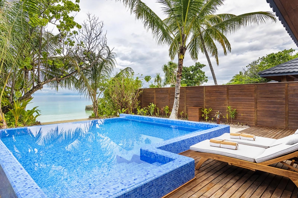 Beach Residence With Pool