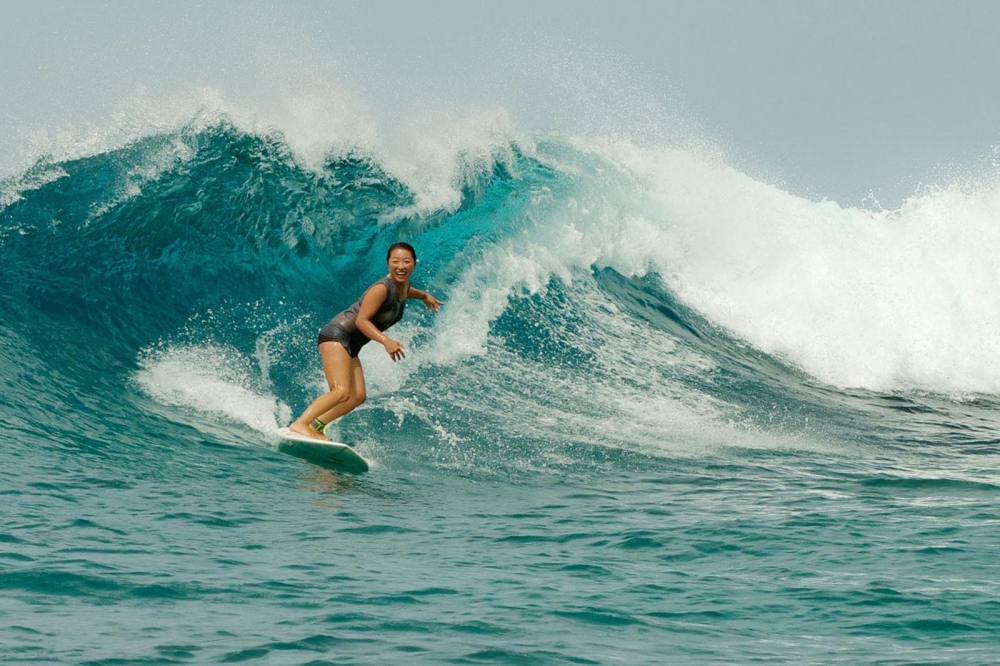 Surfing with Tropicsurf