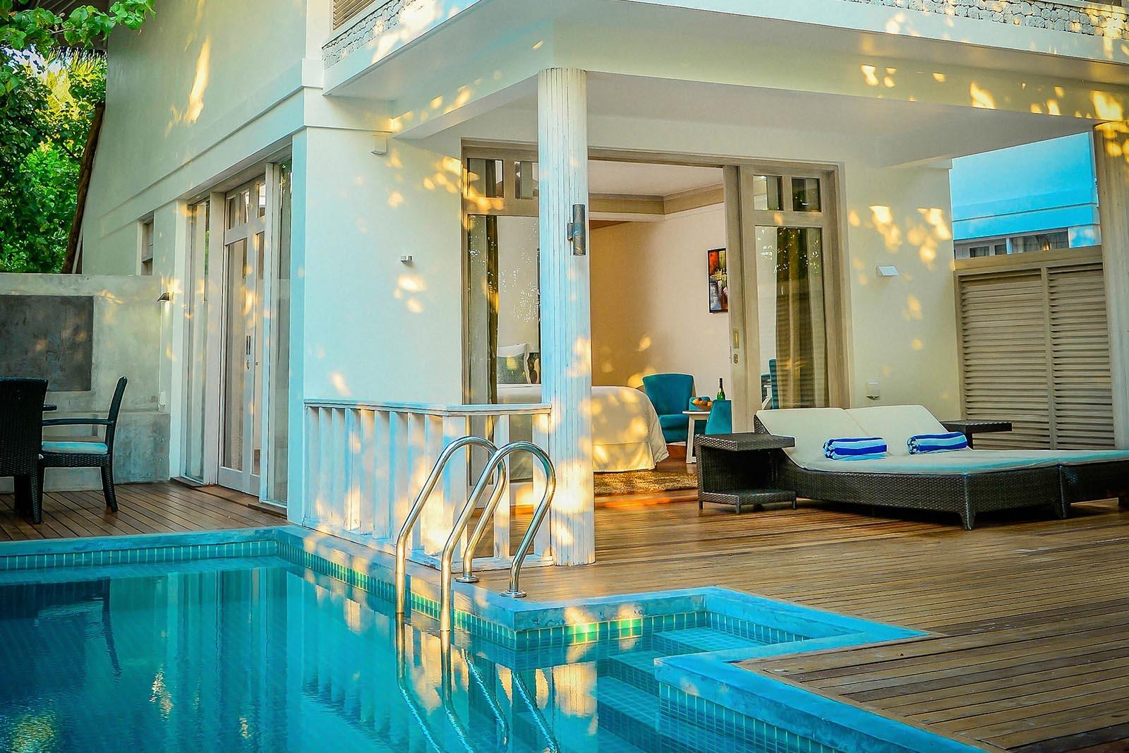 Family Duplex Beach Villa
