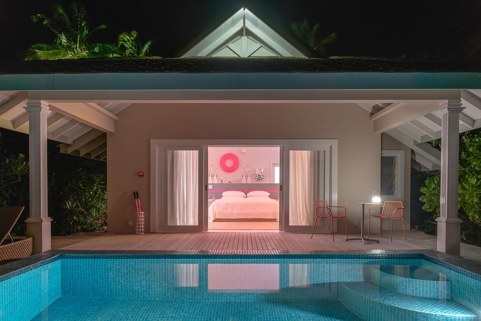2Bedroom Lagoon Beach Villa