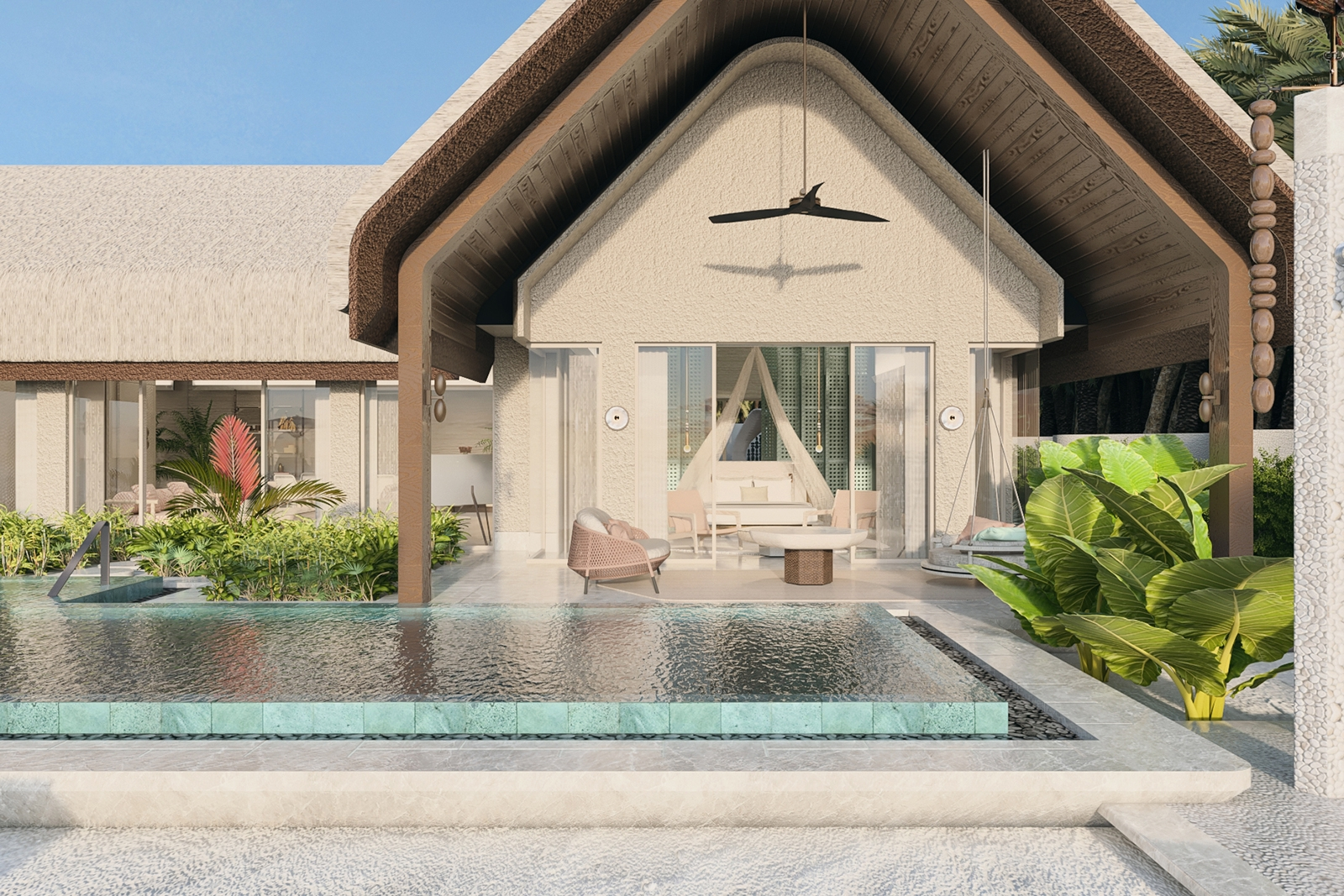 2Bedroom Beach Villa with Pool