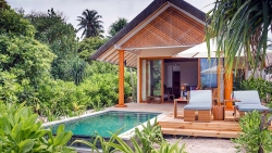 COUPLES HONEYMOON - 7 NIGHTS at BEACH VILLA (WITH POOL)